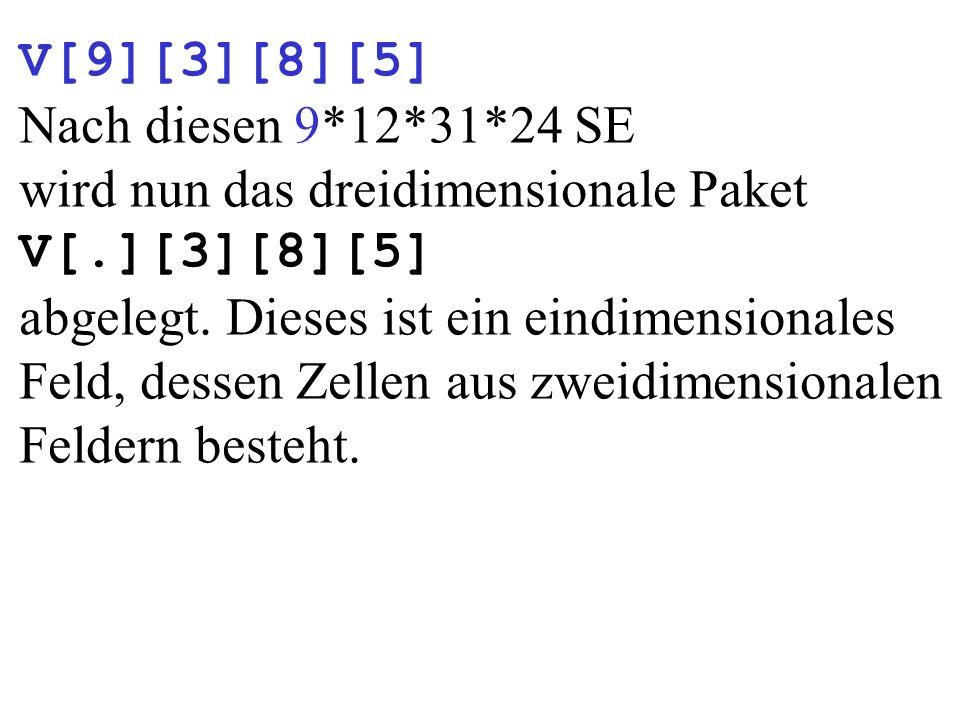 V[9][3][8][5] Nach diesen 9*12*31*24 SE.